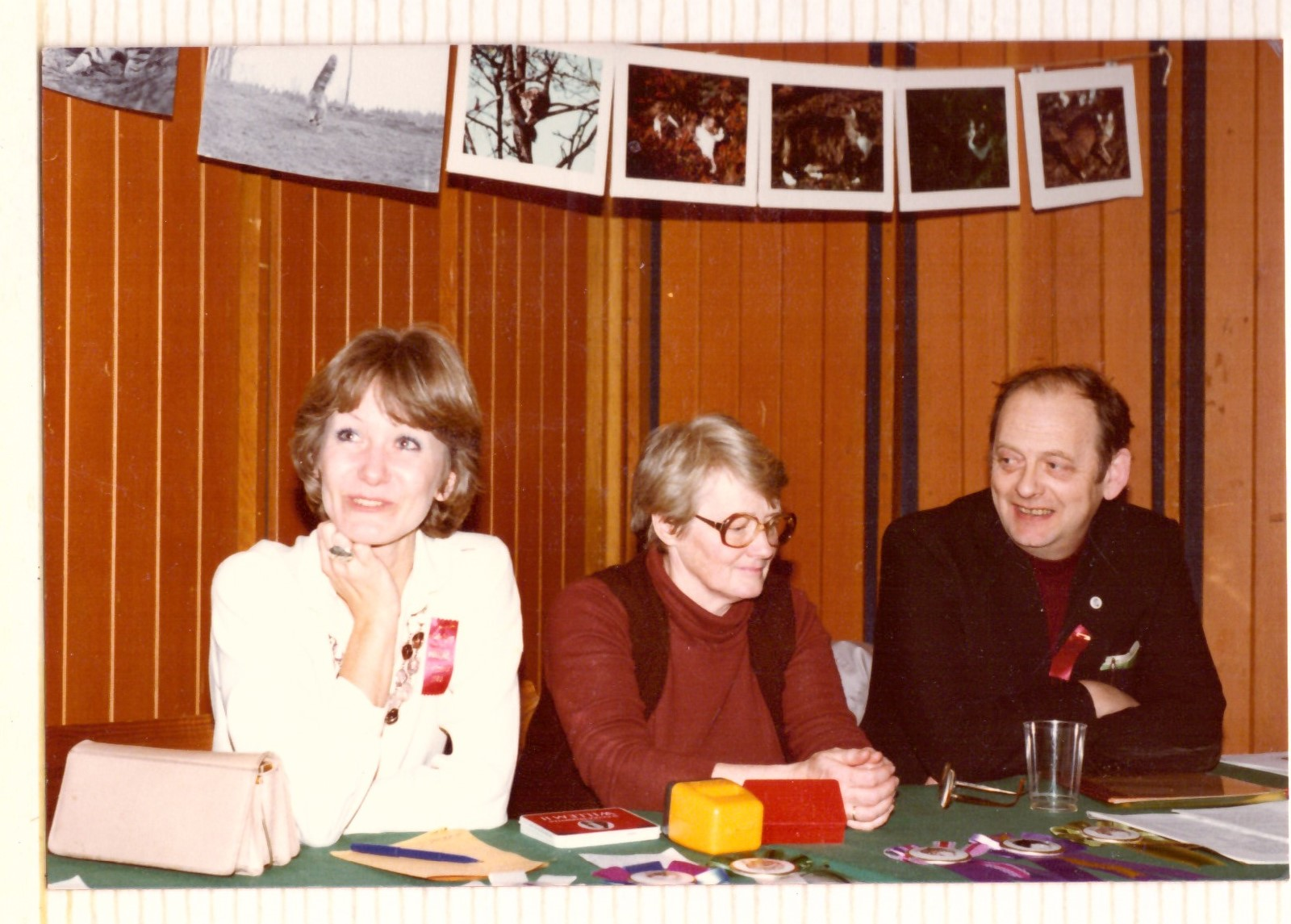 Else og Egil Nylund. DARAKs udstilling marts 1982